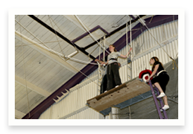 View the Flying Trapeze at our Oakland gallery