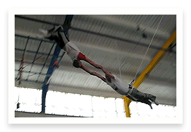 Video of Man on Flying Trapeze